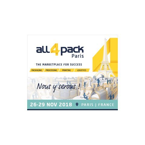 Salon ALL4PACK 2018